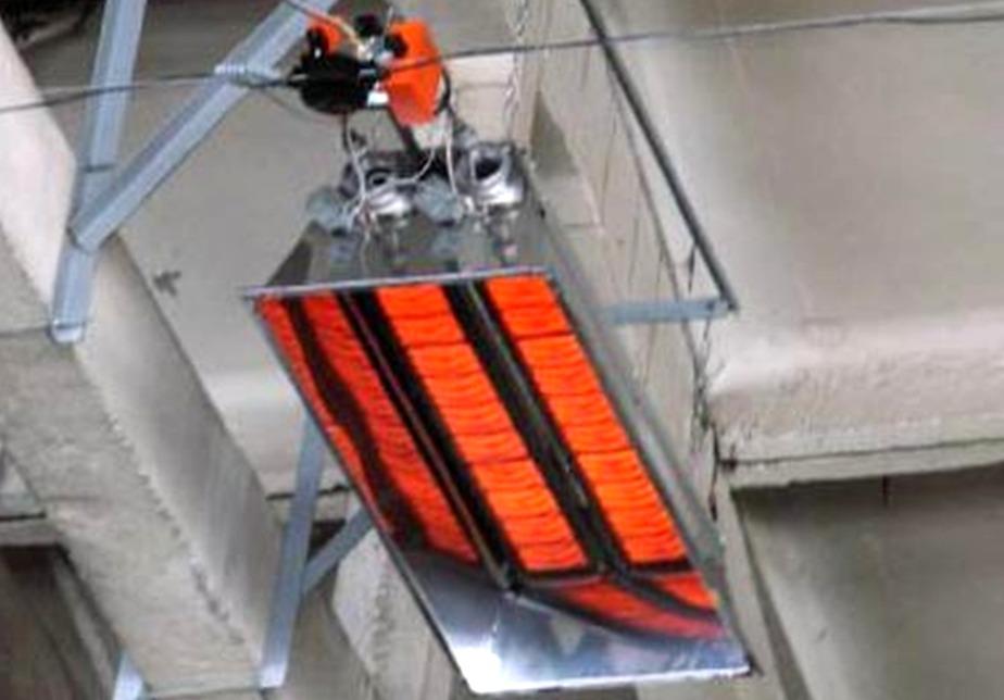 промышленные инфракрасные обогреватели